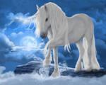 Unicorn-skies by JaneEden
