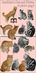 JaneEden's Cats and Kittens - stock by JaneEden