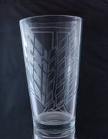 Attack of Titan Wings of Freedom Etched Glass by LillyInverse