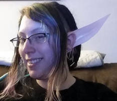 Custom Large Cosplay Elf Ears by LillyInverse