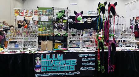 Youmacon Setup by LillyInverse