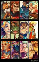 2013 Art Summary by GDBee