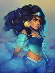 Battle Jasmine by GDBee