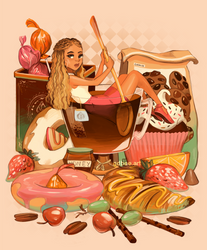 Tea and Sweets by GDBee