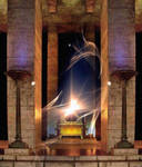 Shekina in the Temple - Peter Crawford by PeterCrawford