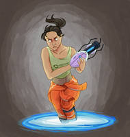 Chell by Choco--Mint