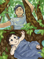 Excerpt from Storyboard 07 Fin by swimmingtrunks