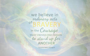 Ordinary Acts of Bravery by CherokeeLove