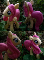 MLP Fluttershy Plushie by Trinkety