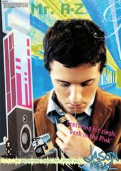 Jason Mraz Promotional Poster by RephaeL