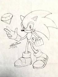 Sonic Sketch by audiobrainiac