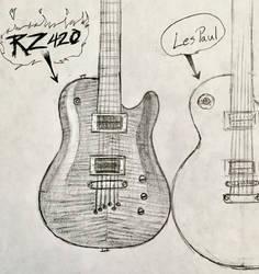 Concept Guitar by audiobrainiac