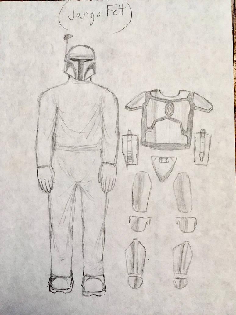 Jango Fett Armor by audiobrainiac
