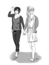 A Walk Together by wittlewonton