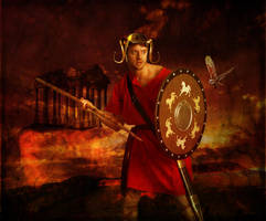 Ares, God of War by violscraper