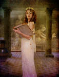 Clio, Muse of History by violscraper