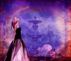 Flamingo Fountain by violscraper