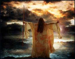 Eos, Goddess of the Dawn by violscraper