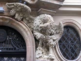 Eagle sculpture 1473 by estellium