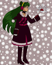 Sailor Snow Pluto by lamarce