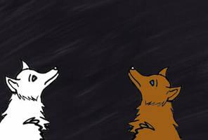 Wolves At Night by PrincessSeddie