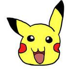 First Attempt at Pikachu... by PrincessSeddie