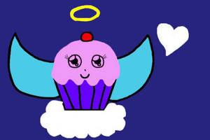 Angel Cake by PrincessSeddie