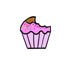 Cupcake Bite by PrincessSeddie