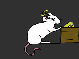 Angel The Mouse by PrincessSeddie