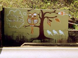 MardyBums pupukea Mural by brookpower