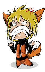 Angry little fox is angry by PhantomSilence44