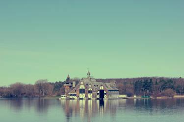Castle on Water by kpasha