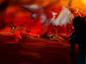 Rivalry by Ragepelt