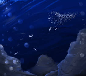 Welcome to the Deep Blue by Ragepelt