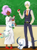 Pokemon Group Teacher Refference by Ruuriri