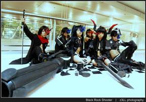 Black Rock Shooter IV by z3LLLL