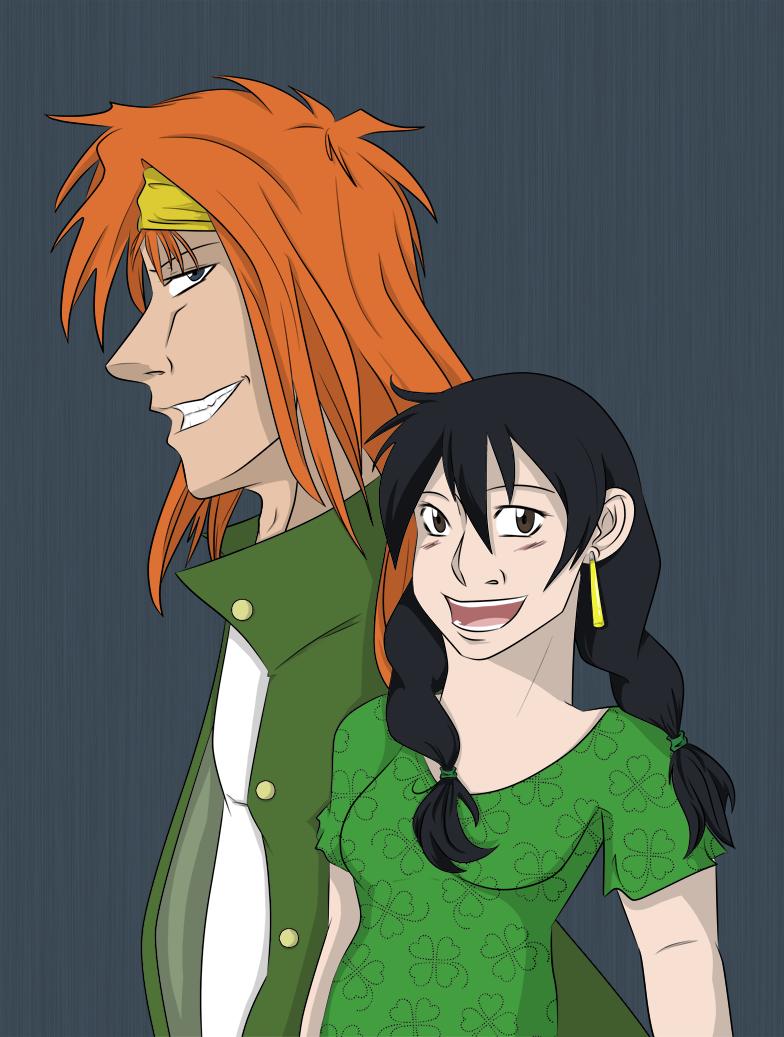 odd couple by amiko16