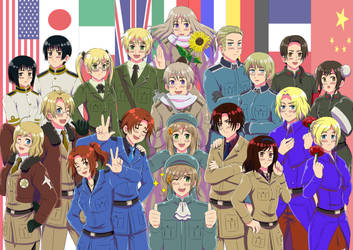 Hetalia: Duality by khakipants12