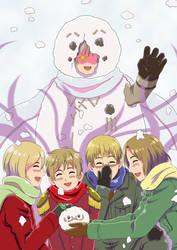 APH Request: Soviet Snowman by khakipants12