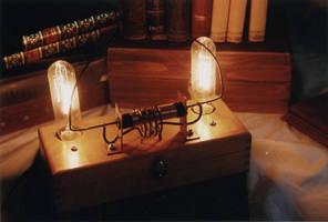 tesla lamp by enguerrand