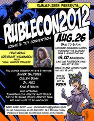 RubleCon.Flyer by Stone-Pi-Comics