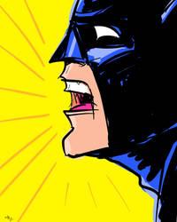 Batman1 Sketch by Stone-Pi-Comics