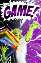 GamePOSTER11X17 by Stone-Pi-Comics