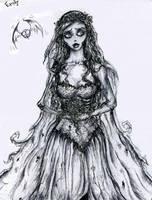Corpse Bride by aliceuramushroomhead