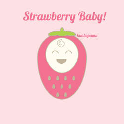 Vector: Strawberry Baby! by KimbuPamu