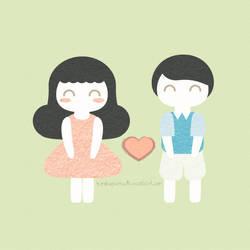 Vector: We're in Love! by KimbuPamu