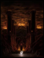 Angband, The Hells of Iron by EthalenSkye
