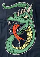 Dragonsnake Print1 by niferdil