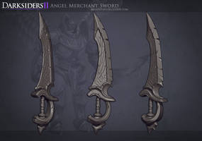 DS2: Angel Merchant Sword by MissMaddyTaylor