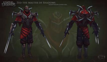 LoL: Zed the Master of Shadows by MissMaddyTaylor